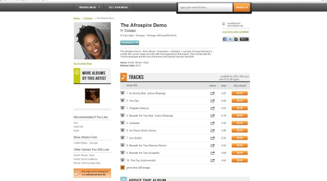 Now Available On CDBaby ~ The AfroSpire Demo ~