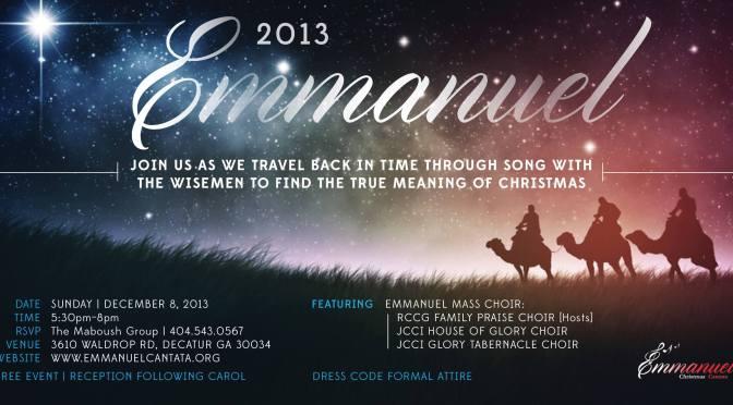 Emmanuel 2013