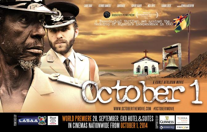 Film: @Kunleafolayan #October1Movie Release Announcement