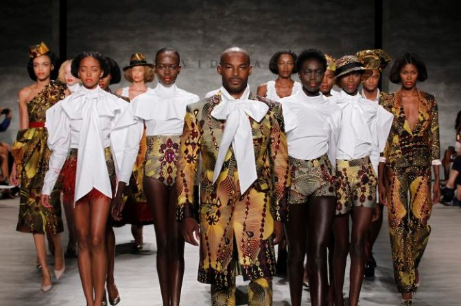 South Africa : Fashion – David Tlale (@Tlale_large) at #NYFW + Arts – Yasmin's Dramatic Need