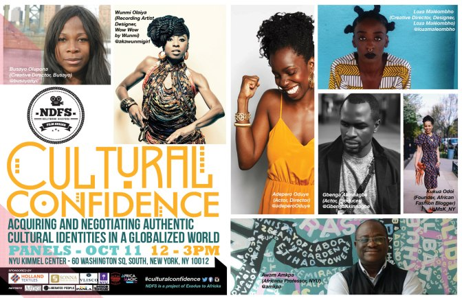 CULTURAL CONFIDENCE BY @yorubaculture OPENS TONIGHT IN NEW YORK