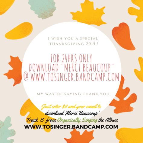 Thanksgiving 2015 Tosinger