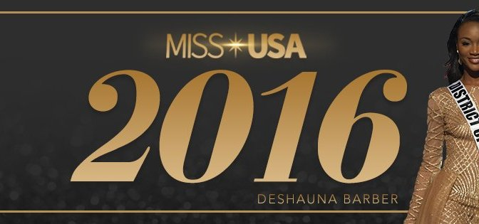 The New Miss USA 2016 is Deshauna Barber @RealMissDCUSA