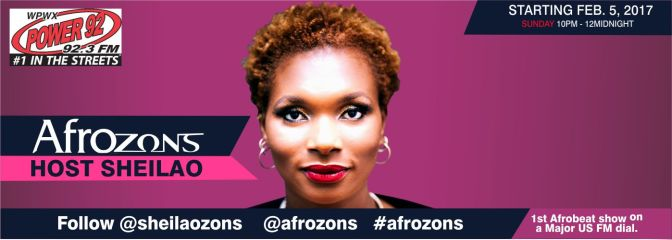 """THE AFROZONS SHOW"" – The Premiere Afrobeat Mix Show on a US Airwave launches"