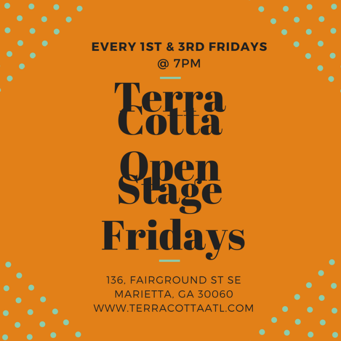 Terra Cotta/Open Stage Fridays Launches in Atlanta